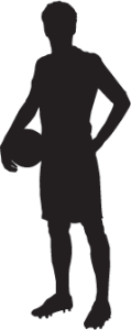 Silhouette-of-soccer-player